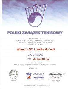 Licencja Klubowa 2011